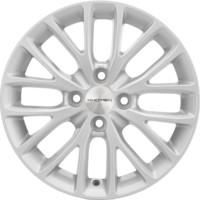 Khomen Wheels Double-Spoke 606 (ZV 16_Corolla) G-Silver